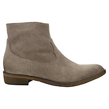 Buy Jigsaw Frankie Suede Ankle Boots Online at johnlewis.com