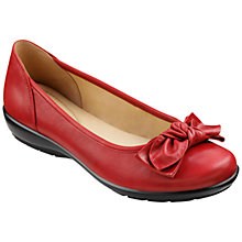 Buy Hotter Jewel Leather Ballerina Pumps Online at johnlewis.com