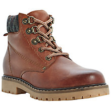 Buy Bertie Podrick Heavy Tread Leather Boots, Tan Online at johnlewis.com