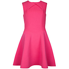 Buy Ted Baker Azelia A-Line Sleeveless Flared Dress, Mid Pink Online at johnlewis.com