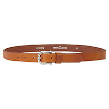 Buy Jigsaw Classic Jeans Belt, Tan Online at johnlewis.com