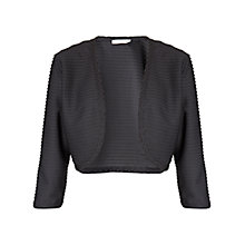 Buy Gina Bacconi Pintuck Jersey Bolero Online at johnlewis.com