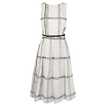 Buy Coast Kira Checked Dress, Mono Online at johnlewis.com