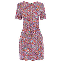 Buy Warehouse Mini Brushstroke Dress, Multi Online at johnlewis.com