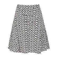 Buy Reiss Christa Print Silk Skirt, Lenior Print Online at johnlewis.com