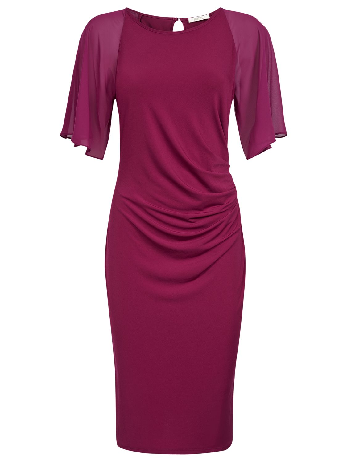 kaliko angel sleeve dress, kaliko, angel, sleeve, dress, berry|navy|navy|navy|berry|berry, 10|18|10|14|14|16, clearance, womenswear offers, womens dresses offers, special offers, 20% off selected kaliko, women, plus size, womens dresses, 1585553