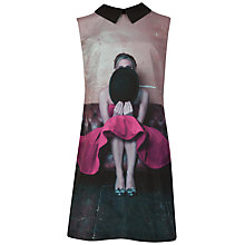 Buy Ted Baker Hat Printed Tunic Dress, Fuchsia Online at johnlewis.com