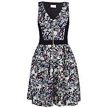 Buy Almari Print Contrast Zip Dress, Multi Online at johnlewis.com