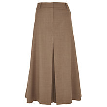 Buy Viyella Petite Flannel Skirt, Cognac Online at johnlewis.com