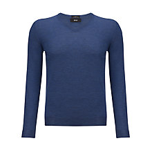 Buy BOSS Melba V-Neck Jumper Online at johnlewis.com