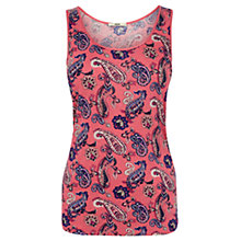 Buy Oasis Paisley Print Vest, Multi Online at johnlewis.com