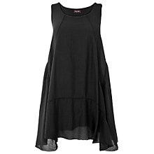 Buy Phase Eight Portia Silk Blend Dress, Black Online at johnlewis.com