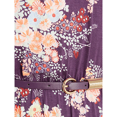 Buy Oasis Parasol Maxi Dress, Purple/Multi Online at johnlewis.com