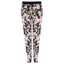 Buy Oasis Kimono Trousers, Multi Pink Online at johnlewis.com