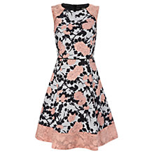 Buy Oasis Kimono Shadow Dress, Multi Black Online at johnlewis.com