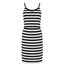 Buy Oasis Stripe Camisole Dress, Multi Blue Online at johnlewis.com