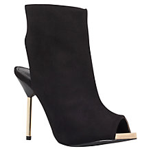 Buy Miss KG Erin Suede Stiletto Ankle Boots, Black Online at johnlewis.com