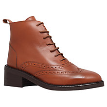 Buy KG by Kurt Geiger Savoy Lace Up Ankle Boots Online at johnlewis.com