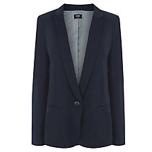 Buy Oasis Anna Jacket, Navy Online at johnlewis.com