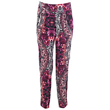 Buy Miss Selfridge Snake Printed Trousers, Multi Online at johnlewis.com