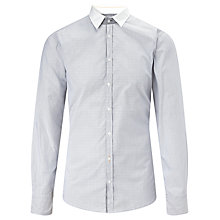 Buy BOSS Orange Expressonee Slim Fit Shirt, Grey Online at johnlewis.com