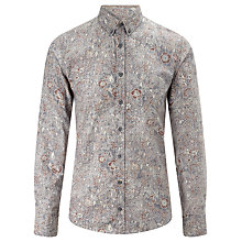 Buy BOSS Orange Edipoe Paisley Shirt, Blue Online at johnlewis.com