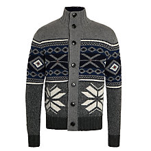 Buy Tommy Hilfiger Hendrick Cardigan, Silver Fog Online at johnlewis.com