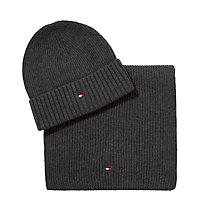 Buy Tommy Hilfiger Hat and Scarf Set, One Size Online at johnlewis.com