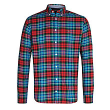 Buy Tommy Hilfiger Hendricks Check Shirt, Rio Red Online at johnlewis.com