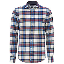 Buy Tommy Hilfiger Iggy Check Shirt, Snow White Online at johnlewis.com
