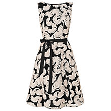 Buy Phase Eight Rosie Tapework Dress, Black/Cameo Online at johnlewis.com