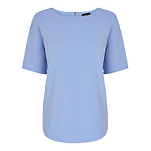 Buy Warehouse Textured Crepe Top Online at johnlewis.com