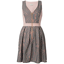 Buy Almari Bonded Lace Dress, Pale Pink Online at johnlewis.com