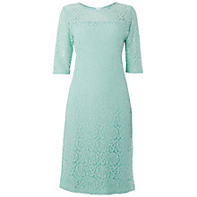Buy Rise Jenny Lace Dress, Mint Online at johnlewis.com