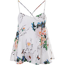 Buy True Decadence Cami Vest, White Flower Online at johnlewis.com