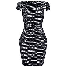 Buy Closet Heart Dress, Black and White Online at johnlewis.com