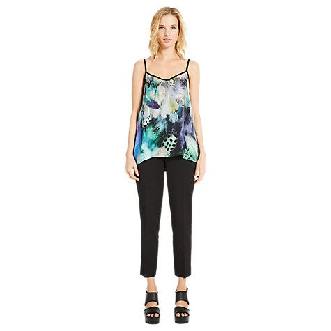 Buy Warehouse Feather Print Cami, Multi Online at johnlewis.com