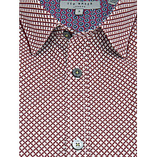 Buy Ted Baker Pickleo Floral Geo Print Shirt Online at johnlewis.com