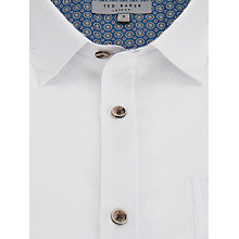 Buy Ted Baker Wellfly Pocket Detail Square Weave Shirt Online at johnlewis.com
