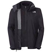 Buy The North Face Men's Evolution II Triclimate® Jacket, Black Online at johnlewis.com