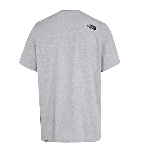 Buy The North Face Easy Logo Short Sleeve T-Shirt, Grey Online at johnlewis.com