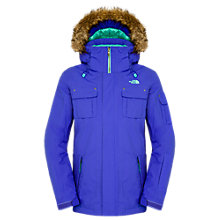 Buy The North Face Baker Jacket, Blue Online at johnlewis.com
