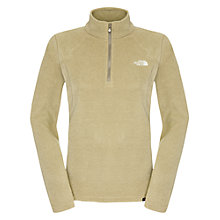 Buy The North Face 100 Glacier 1/4 Zip Fleece, Beige Online at johnlewis.com