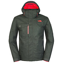 Buy The North Face Men's Hickory Pass Jacket, Asphalt Grey Online at johnlewis.com