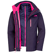 Buy The North Face Cheak Tri Jacket, Blue Online at johnlewis.com