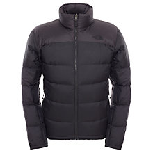 Buy The North Face Nuptse Down Men's Jacket, Black Online at johnlewis.com