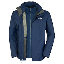 Buy The North Face Evolution Triclimate 3-in-1 Jacket, Navy Online at johnlewis.com