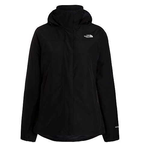 Buy The North Face Women's Resolve Insulated Hooded Jacket, Black Online at johnlewis.com