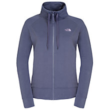 Buy The North Face High Neck Zipped Jersey Top Online at johnlewis.com