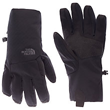 Buy The North Face Men's Apex Etip Gloves, Black Online at johnlewis.com
